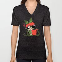 Poison Puff Unisex V-Neck