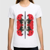 Summer Red Skulls 2012 Womens Fitted Tee Ash Grey SMALL