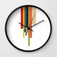 Trickle Wall Clock