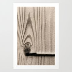 wood//firestick Art Print