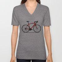 Specialized Racing Road Bike Unisex V-Neck