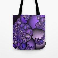 Perplexity of Purple Tote Bag
