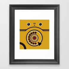 Phone Framed Art Print