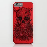 iPhone Cases featuring The Lumbermancer by Nick Volkert