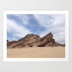 Vasquez Rocks Art Print