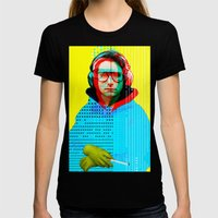 Gioconda Music Project �… Womens Fitted Tee Black SMALL