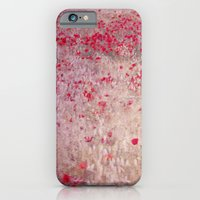 iPhone & iPod Case featuring Fields of poppies by Guido Montañés