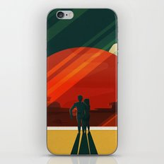THE MOONS OF MARS - Phobos & Deimos | Space | X | Retro | Vintage | Futurism | Sci-Fi | Two iPhone & iPod Skin