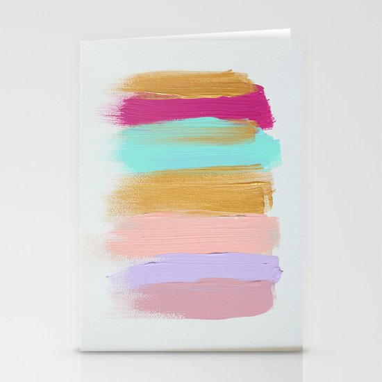 Colors 63 Stationery Card