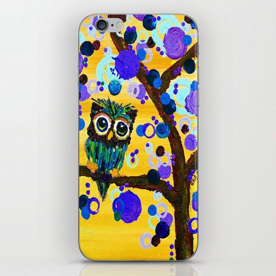 :: Sunshine Gemmy Owl :: iPhone & iPod Skin