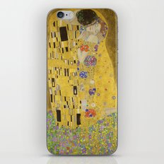 The Kiss by Gustav Klimt iPhone & iPod Skin