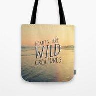 Wild Creatures Tote Bag