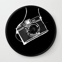 Noir Lomo Love Wall Clock
