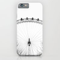 iPhone & iPod Case featuring London Eye by Studio Laura Campanella