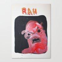Rah Canvas Print