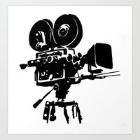 For Reel Art Print