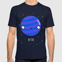 Neptune Mens Fitted Tee Navy SMALL