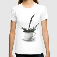 coffee T-shirts featuring Coffee by Thubakabra