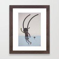 IT'S ALRIGHT I'M OK... Framed Art Print