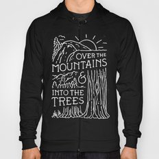 OVER THE MOUNTAINS (BW) Hoody