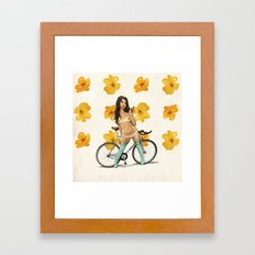 One Bite and All Your Dreams Will Come True Framed Art Print