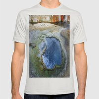 Boiling Mens Fitted Tee Silver SMALL