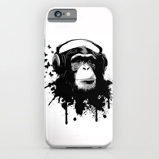 Monkey Business - White iPhone & iPod Case