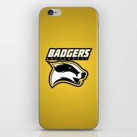 Badgers Hufflepuff  iPhone & iPod Skin