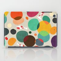 Lotus in koi pond iPad Case