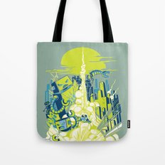 Smash! Zap!! Zooom!! - Annoying Kidd Tote Bag