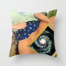 Wormhole Throw Pillow