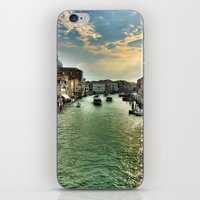 Sunrise on the Grand Canal, Venice iPhone & iPod Skin