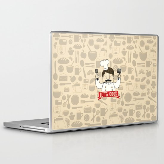 Let's Cook! Laptop & iPad Skin