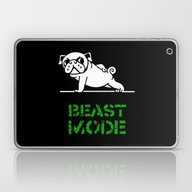 Beast Mode Pug Laptop & iPad Skin
