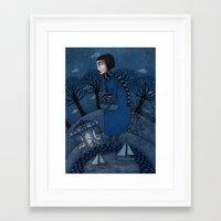 December Park (1) Framed Art Print