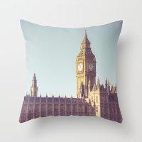 Dreaming Big Ben Throw Pillow