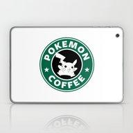 Laptop & iPad Skin featuring Pokemon Coffee by Royal Bros Art