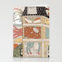 City of animamaly Stationery Cards