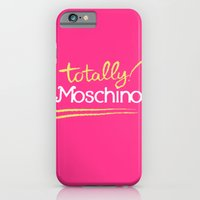 iPhone & iPod Case featuring Totally Moschino by RickyRicardo787
