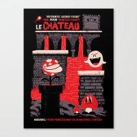 Le Château Canvas Print