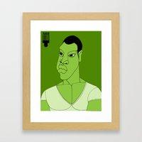 1001 Black Men--#566 Framed Art Print