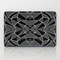 Abstraction Lines Mirror… iPad Case
