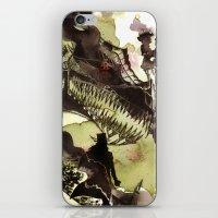 Steampunk Dragon iPhone & iPod Skin