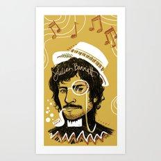 Gold Lion Art Print