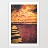 Pathway To The Sea Art Print