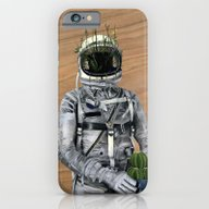 iPhone & iPod Case featuring Cacti | Spaceman No:1 by FAMOUS WHEN DEAD