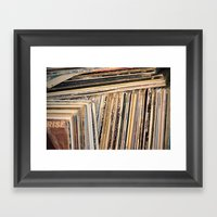 Album Covers Framed Art Print