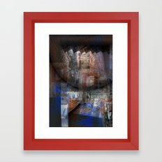 On The Verge  Framed Art Print