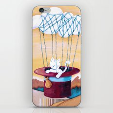 The cat traveling in dreams iPhone & iPod Skin