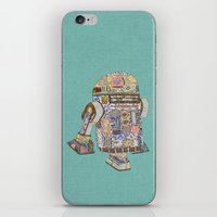 R2D2 Crashed Into A Flow… iPhone & iPod Skin